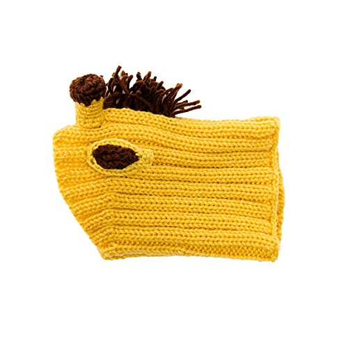 Zoo Snoods - The Original Knit Giraffe Dog Snood - Funtober