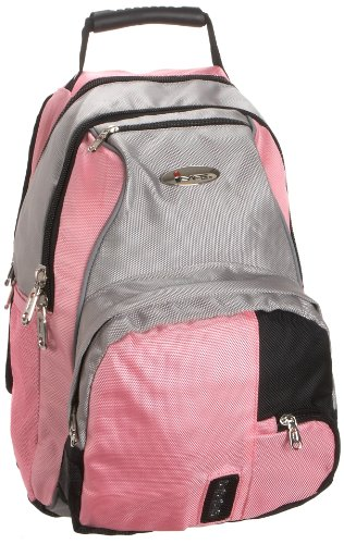 iSafe Girls School BackPack, Pink, One Size