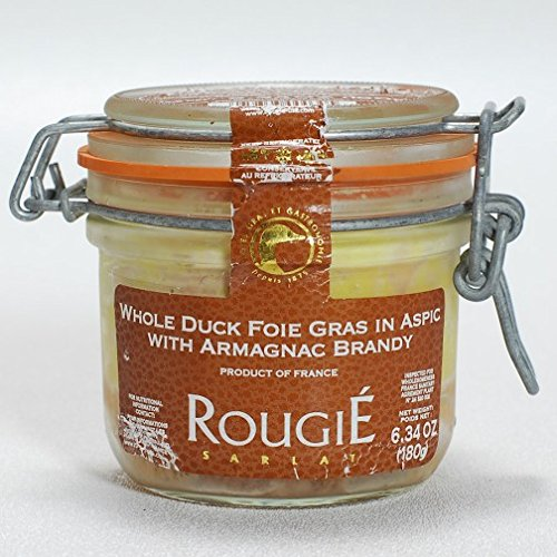 Whole Duck Foie Gras in Aspic with Armagnac Brandy Micuit By ()