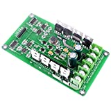 Dual Motor Driver Board for Arduino Robot,Quimat 3-36V/15A H-Bridge DC Motor Driver PWM Module Circuit Board for Smart Car Robot
