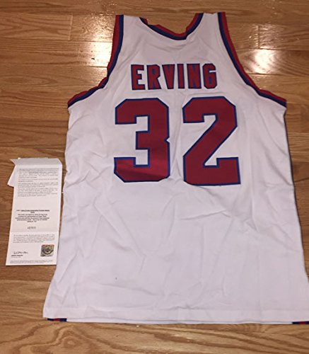 db80e1400 RARE! Julius Dr. J Erving Signed Autographed Virginia Squires Mitchell and  Ness 1972-73 jersey LE 64 132 UDA at Amazon s Sports Collectibles Store