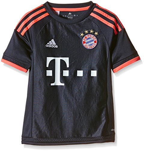 adidas Jungen Fußballtrikot FC Bayern München UCL Replica, night navy/flash red, 128, S08661