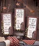 Outhouse Etiquette Signs Set of 3