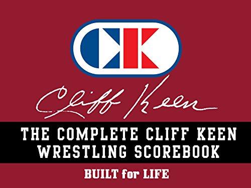Cliff Keen Wrestling Scorebook by Cliff Keen