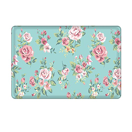 Uphome Pink Rose Flower Flannel Microfiber Bathroom Shower Accent Rug - Aqua Non-slip Soft Absorbent Bathroom Kitchen Floor Mat Carpet (20 x 31 Inch)