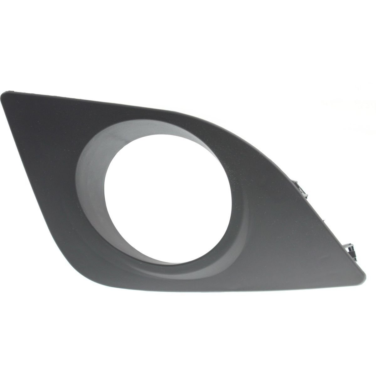 DAT 09-10 TOYOTA COROLLA BLACK FOG LAMP COVER RIGHT PASSENGER SIDE TO1039115 DAT AUTO PARTS