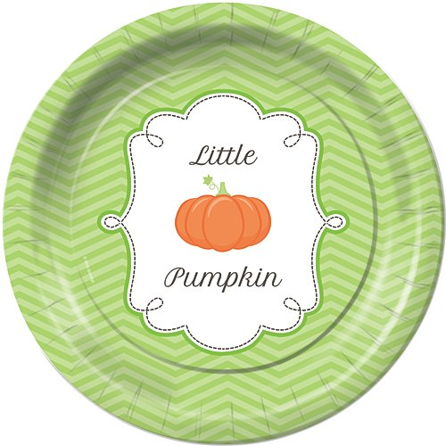 Lil Pumpkin First 1st Birthday Dinner Plates Party Tableware Supplies Decorations