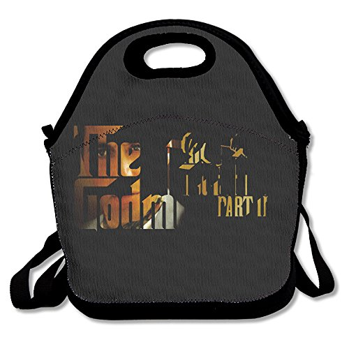 The Godfather Part 2 Logo Lunch Bag Travel Zipper Organizer Bag, Waterproof Outdoor Travel Picnic Lunch Box Bag Tote With Zipper And Adjustable Crossbody - Michael Kors Ireland