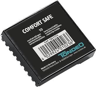 Tondeo Comfort Safe Cuchillas 10 unidades – Cuchillas de