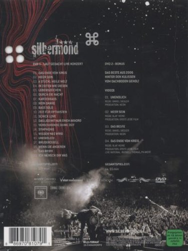 Silbermond: Laut Gedacht Live by Columbia Europe