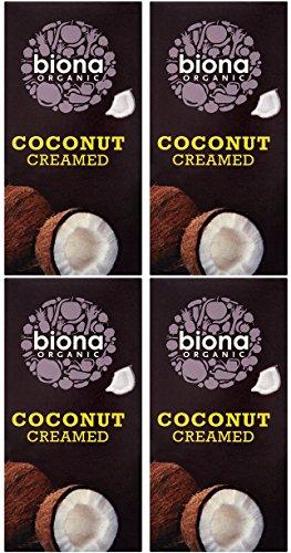 (4 PACK) - Biona - Organic Creamed Coconut | 200g | 4 PACK BUNDLE