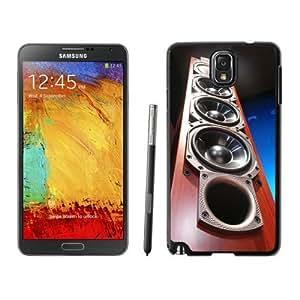 NEW Unique Custom Designed Samsung Galaxy Note 3 N900A N900V N900P N900T Phone Case With Tower Speakers Wood_Black Phone Case wangjiang maoyi