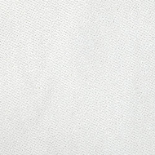 Brushed Cotton Fabric - Carr Textile Sanded/Brushed Twill White Fabric The Yard, White