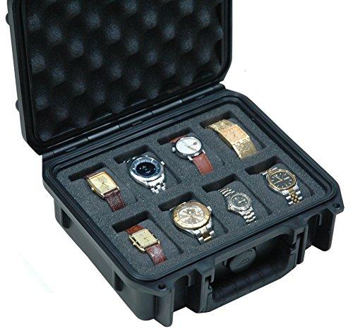 Case Club Waterproof 8 Watch Travel - Watch Rectangle Case