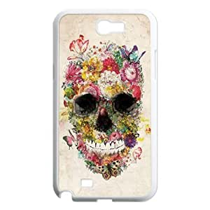 Skull Unique Design Cover Case for Samsung Galaxy Note 2 N7100,custom case cover ygtg556580