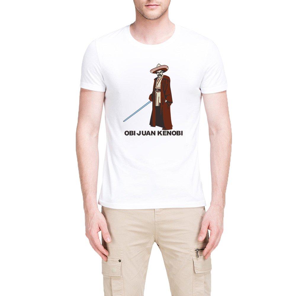 S Obi Juan Kenobi Graphic Casual T Shirts Tee