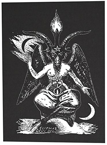 Baphomet Back Patch - Pentagram Demonic Serpent Devil Dragon Demon Evil  Goat Mendes Skull Goat's Head Gothic Metal Occult Punk Satan Satanic  Skeleton