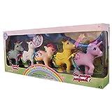 Basic Fun My Little Retro Rainbow Pony Toys
