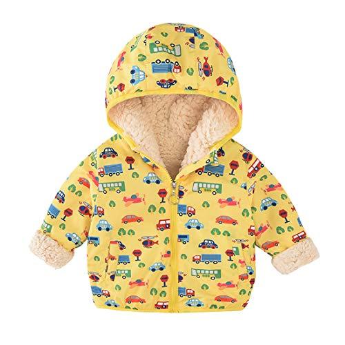 340c14340 ACESTAR Cartoon Kids Fleece Winter Jacket Coat, Windproof Warm Hooded Early Spring  Windbreaker Water Resistant