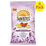 Walker's Sun Bites Onion & Rosemary 6 X 25G (Case Of 8)