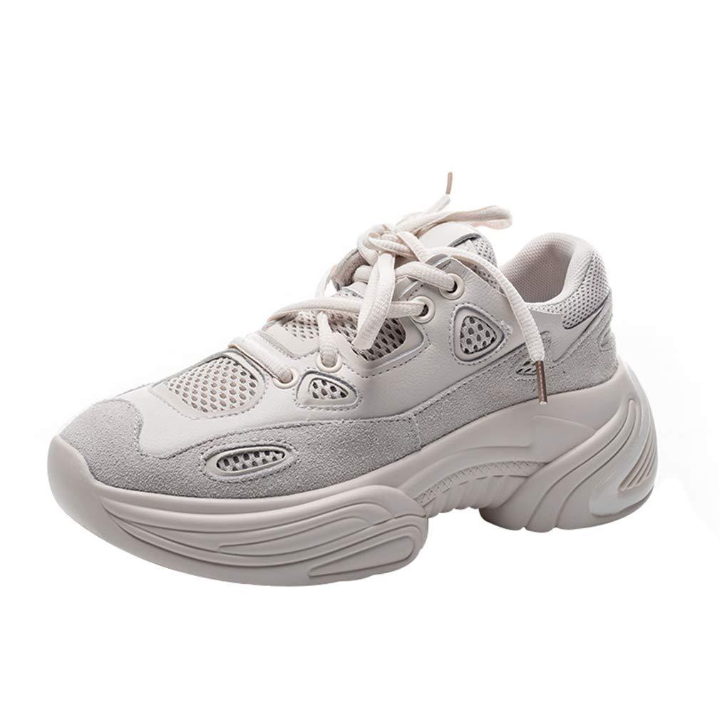 YAN Damenschuhe Ledersportschuhe Schuhe Low-Top Casual schuhe Outdoor Walking Schuhe Athletic Schuhe Training Schuhe A 35