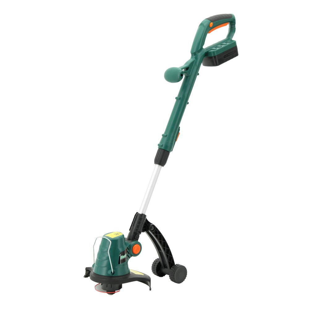 EAST 9-Inch 20V Cordless Battery String Trimmer/Edger, 1.5 AH Li-ion Cordless Battery Grass Trimmer, Battery and Charger Included