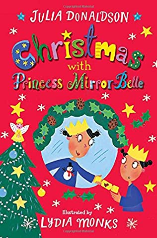book cover of Christmas with Princess Mirror-Belle