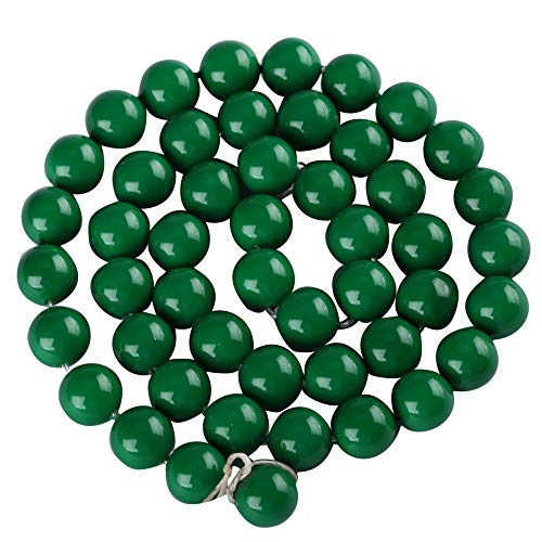 Top Quality 10mm Emerald Green Natural Shell Pearl Round Loose Beads 15.5 inch for Earrings Bracelet Necklace Ring Jewelry Making sp10-24
