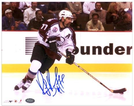 Ray Bourque Colorado Avalanche Autographed 8