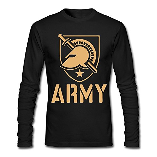 West Point Football (100% Cotton Men's Army West Point Black Knights T-shirts XXL Black)