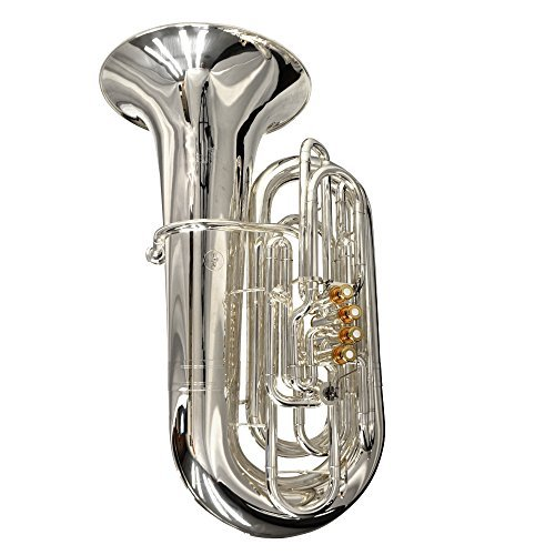 Schiller Elite Compensating CC Tuba Silver Plated & Gold by Schiller