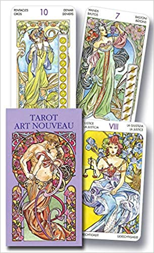 Tarot Art Nouveau Mini: Amazon.es: Lo Scarabeo: Libros en ...