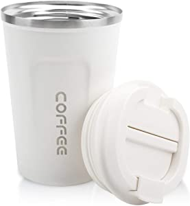12oz Tumbler, Stainless Steel, Vacuum Insulated Coffee Travel Mug with Lid
