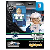 OYO HKYVANHS2 Limited Edition Mini Figure Vancouver Canucks Henrik Sedin, Black, Small