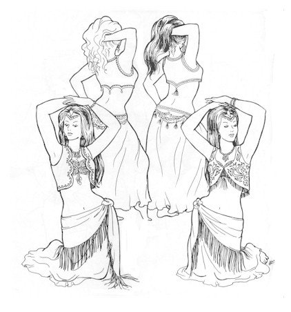 Baharr's Bolero's Pattern (Belly Dance)