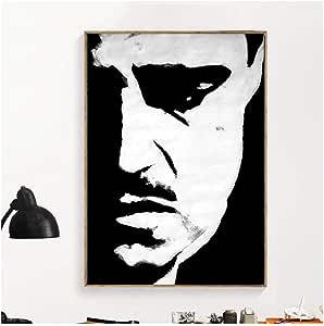 YKing1 Blanco y Negro Dios Padre Película clásica Carteles