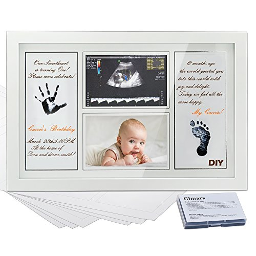 Gimars Newborn Sonogram Handprint Footprint product image