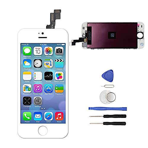 (Screen Replacement for iPhone 5s White 4