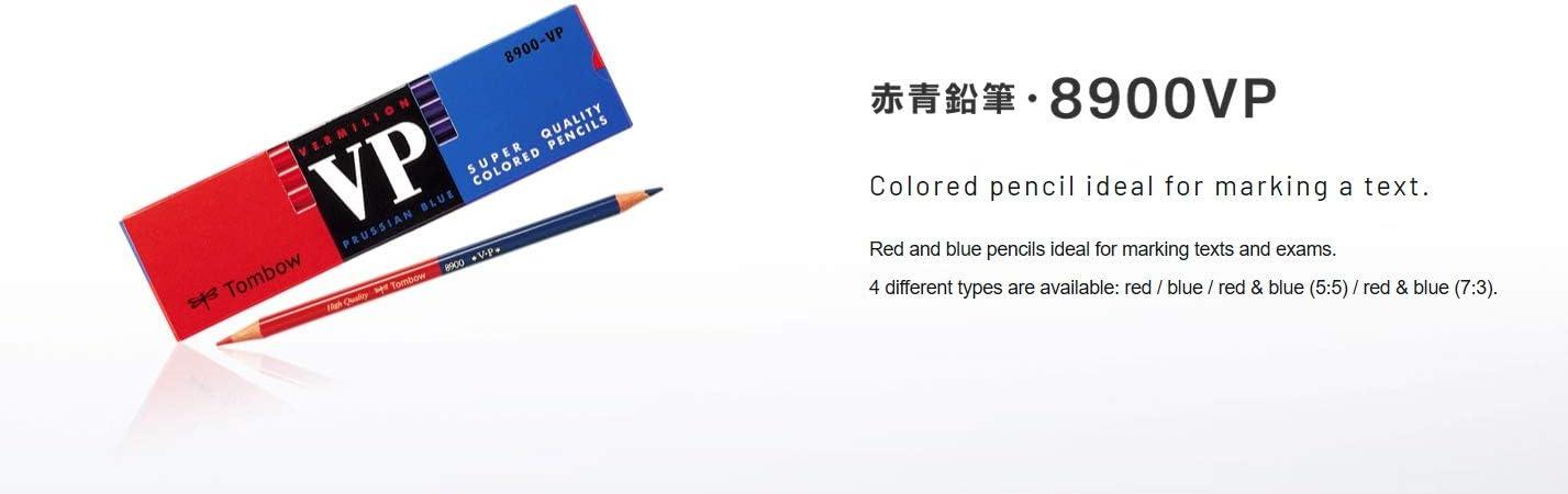 Red blue pencil 8900VP Zhu Ai