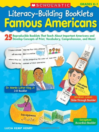 Prints Booklet - Literacy-Building Booklets: Famous Americans: 25 Reproducible Booklets That Teach About Important Americans and Develop Concepts of Print, Vocabulary, Comprehension, and More!