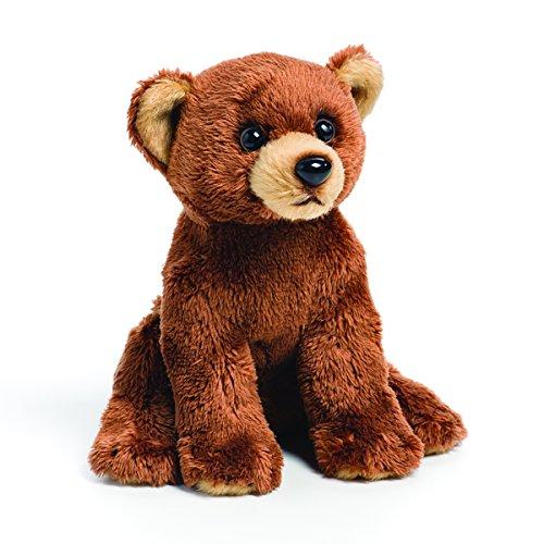 Demdaco Baby Plush Beanbag, Grizzly Bear (Adorable Russ Plush Bear)