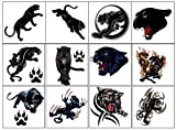 panther Collection (Panther Code 1 Temporary Tattoos)