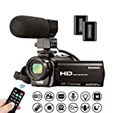 Video Camera Camcorder Kenuo Full HD 1080P 30FPS Digital Camera Vlogging Camera For