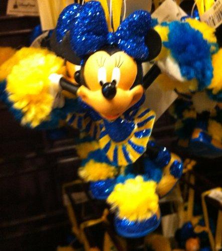Disney Minnie Mouse Cheerleader Figurine Ornament (Figurine Cheerleader)