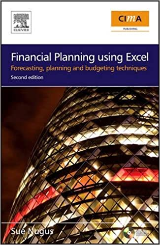 financial planning using excel second edition forecasting
