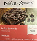 Proti Care Fudge Brownie Baked Square Protein Bar - 7 servings - 15g protein