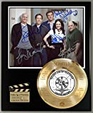 #5: SEINFELD LTD EDITION SIGNATURE & LASER ETCHED TV SERIES DISPLAY