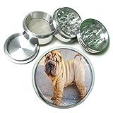 Dog Shar Pei 4Pc Aluminum Grinder