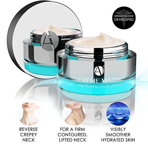 ANJALI MD Crème Matin - Age Rewind Day Neck Cream - Tighten and Lift sagging neck and chin skin