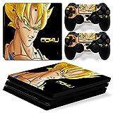 TFSM Branded Goku PS4 PRO Playstation Pro Play Station 4 Vinyl Skin Sticker Dragonball